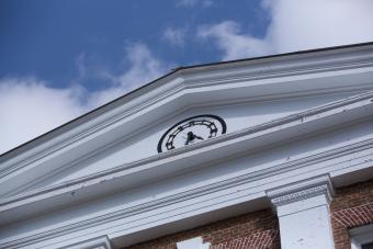 UVA Rotunda Clock
